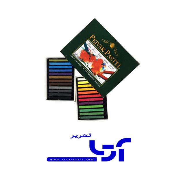 پاستل گچی پژواک 24 رنگ