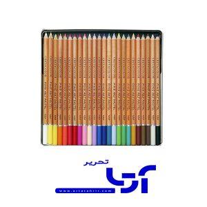 مداد پاستل کرتاکالر 24 رنگ