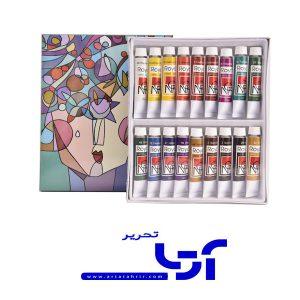 رنگ اکریلیک رویال 18 رنگ