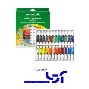 اکریلیک 24 رنگ ریوز